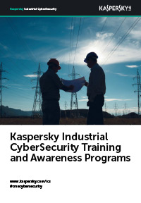 Kaspersky Industrial CyberSecurity Training ed Awareness Program