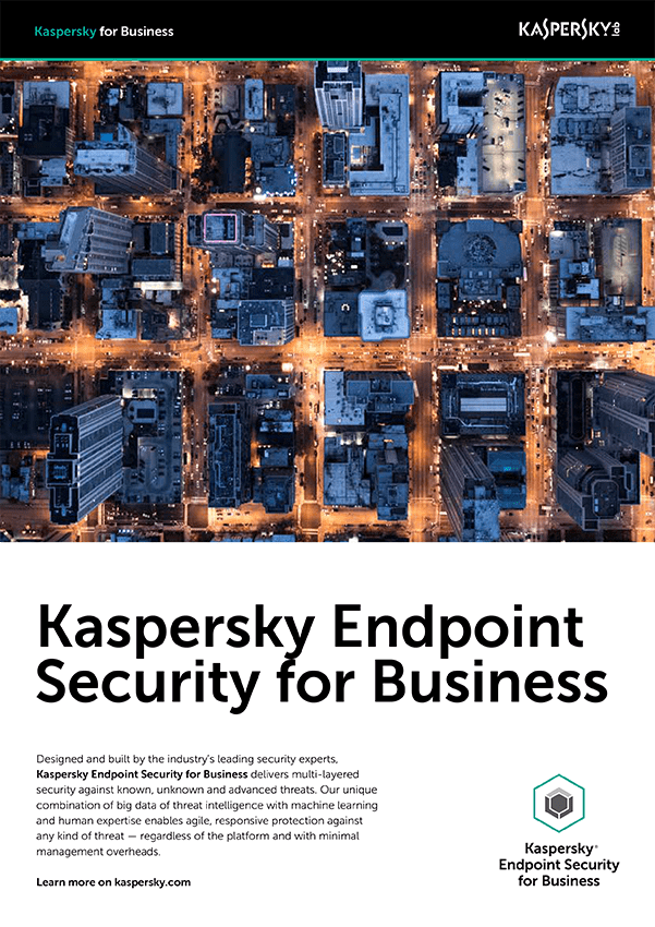 SCHEDA TECNICA DI KASPERSKY ENDPOINT SECURITY FOR BUSINESS