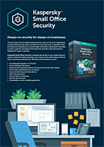 KASPERSKY SMALL OFFICE SECURITY - Scheda tecnica